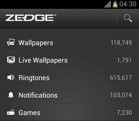 zedge apk file zedge apk last update