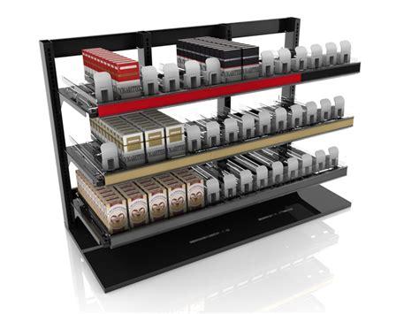 Cigarette Rack by Counter Cigarette Merchandiser By Harbor Industries