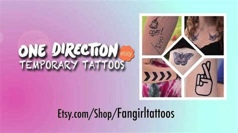 one direction temporary tattoos one direction inspired temporary tattoos onebiginvention