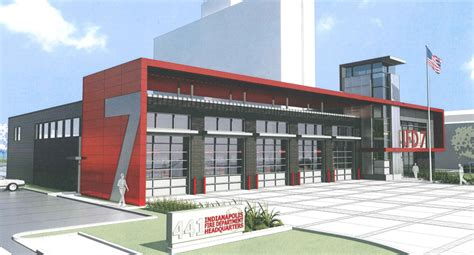 10 Car Garage Plans by Architect Submits Sleeker Design For Downtown Fire Station