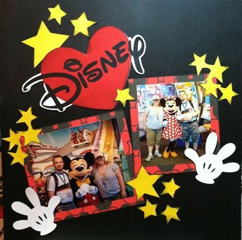 Disney Idea Book Scrapbooking And Crafting Ideas 496 best scrapbooking ideas images on