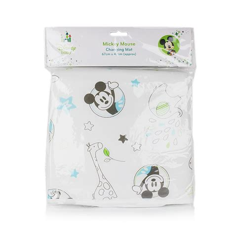 Travel Changing Mat With Wipes by Official Disney Mickey Or Minnie Mouse Baby Home Travel