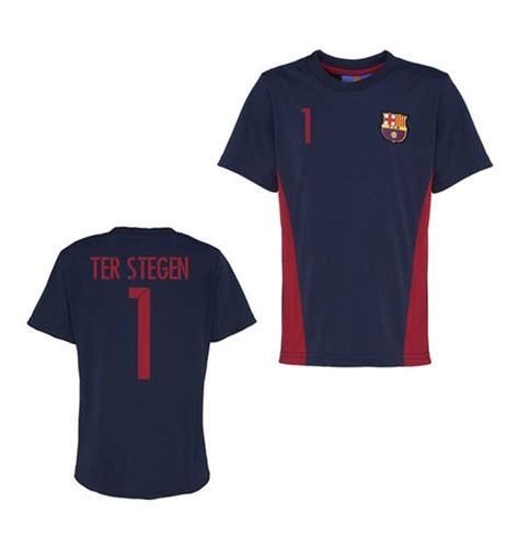 official barcelona t shirt navy ter stegen 1 for only 163 28 33 at merchandisingplaza uk
