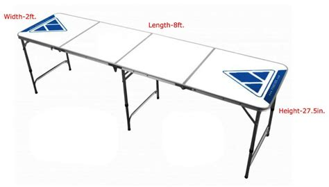 beer pong table size related keywords beer pong table
