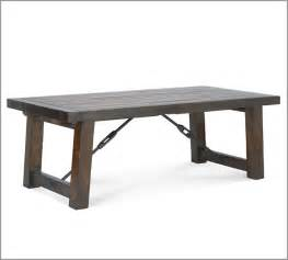 pottery barn benchwright extension table decor look alikes