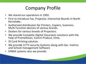 Information Technology Company Profile Template by Arpita Telecom Computer Services Pvt Ltd Company Profile