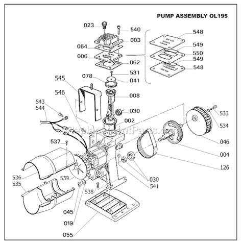 bostitch cap60pb of parts list and diagram ereplacementparts