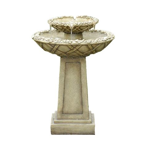 fountain cellar bird bath outdoor water fountain fcl057
