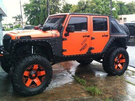 Cool Jeep Nicknames Orange And Black Jeep Unlimited 777