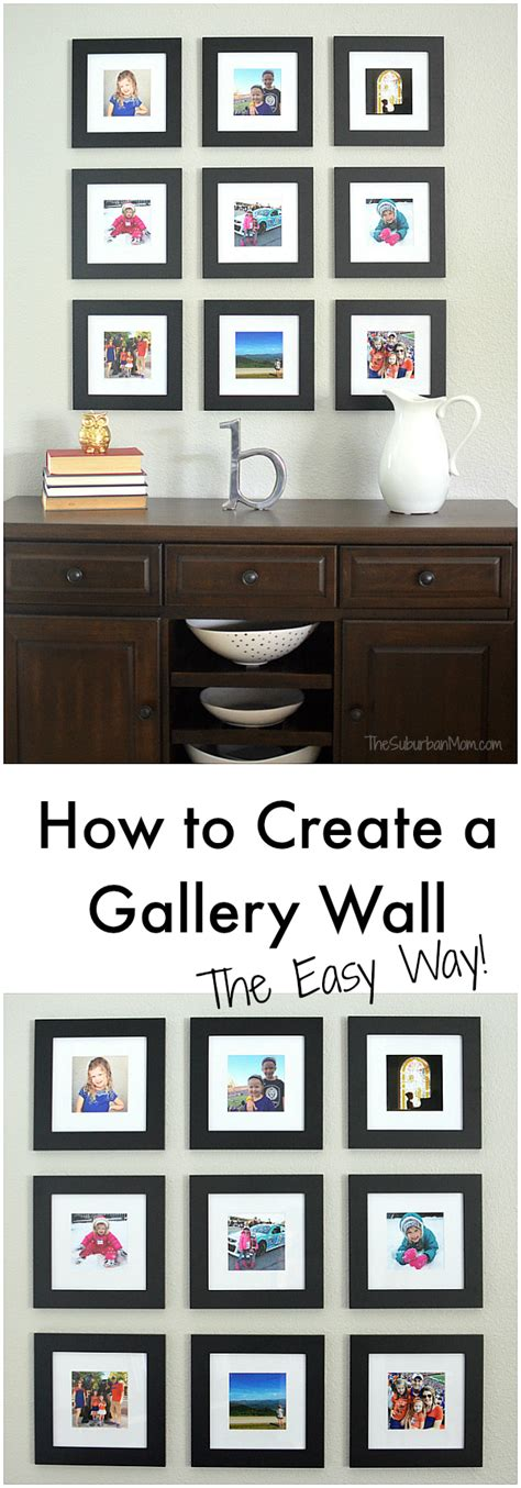 how to design a gallery wall how to create a gallery wall the easy way