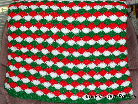 pattern christmas afghan easy crochet pattern christmas crochet shell afghan
