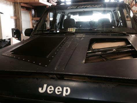 jeep hood vents xxl hi flow install on a jeep cherokee hood louvers