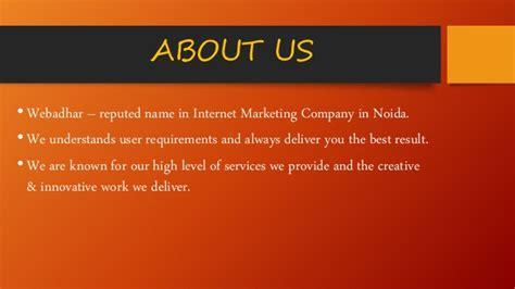 Seo Marketing Company 2 by Webadhar Marketing Company In Noida Seo