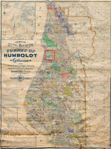 Humboldt State Map by 42 Line Projects Humbolt State University Rare Wall Maps