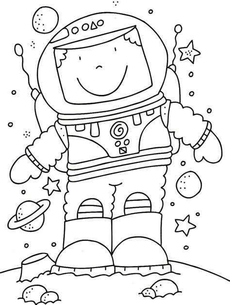 preschool coloring pages outer space astronaut coloring pages google search space