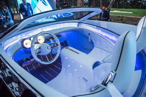inside maybach vision mercedes maybach 6 cabriolet first look motor trend