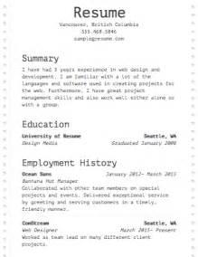 Free Resume Builder 183 Resume Com