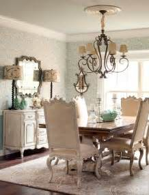 Country Dining Room Lighting Burlap Country Two Tone Trestle Table Sideboard Buffet Chandelier Dining Rooms