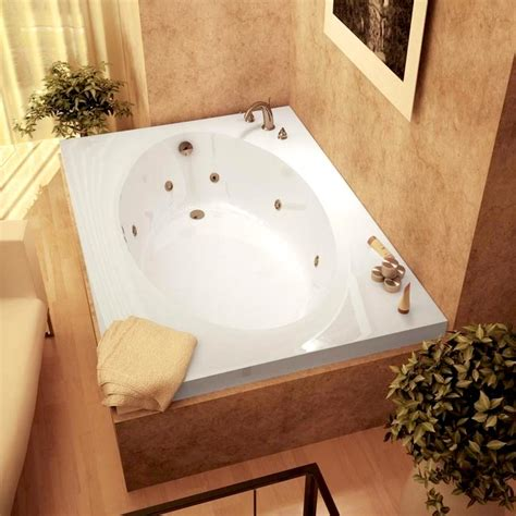 42 inch bathtub atlantis tubs 4260vwr vogue 42 x 60 x 23 inch rectangular whirlpool jetted bathtub w