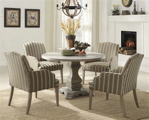 homelegance euro casual pc dining table set  light