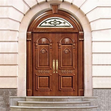 china factory latest design wooden door main gate designs