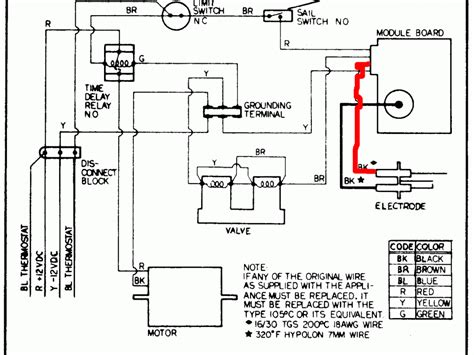 residential water heater thermostat wiring diagram rinnai