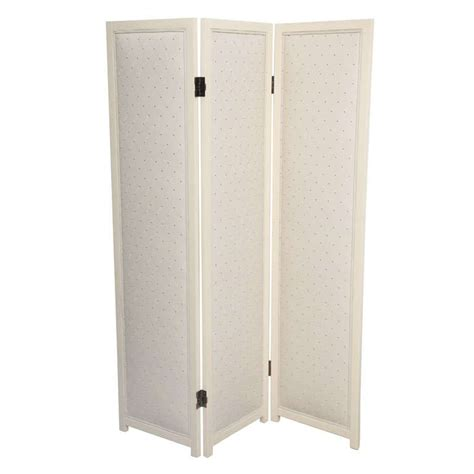 Upholstered Room Divider Upholstered Three Panel Room Divider For Sale At 1stdibs