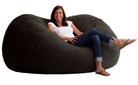 comfort research 6 foot xl fuf list top 10 best bean bag chairs for adult in 2017 reviews