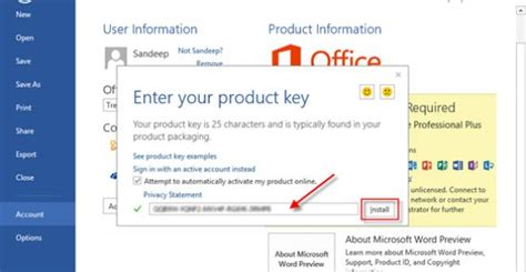 Office 365 Product Key by Microsoft Office 365 2016 Activation Product Key For