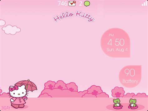 theme hello kitty untuk blackberry premium bubble theme hello kitty edition blackberry