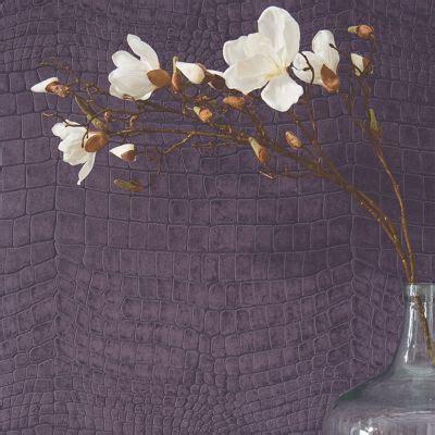 Tapisserie Croco by Papier Peint Expans 233 Sur Intiss 233 Croco Violet Castorama