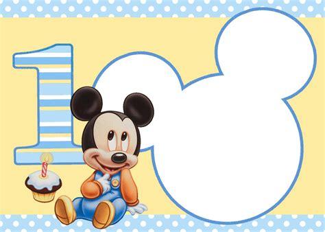 imagenes virtuales en hd invitaciones de cumplea 241 os de mickey mouse en hd gratis