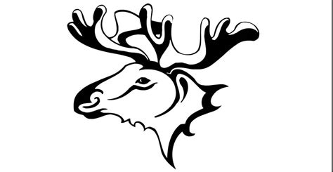 tribal moose tattoo tribal moose www pixshark images galleries