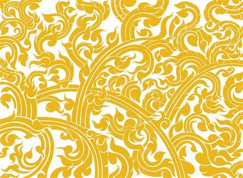 thai pattern background vector thai art pattern style stock vector 169 mapichai 33384489