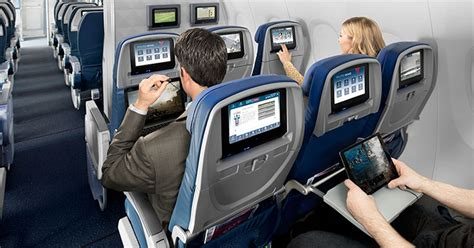 american airlines wifi netflix the future of seatback ife according to american airlines delta jetblue and aeromexico