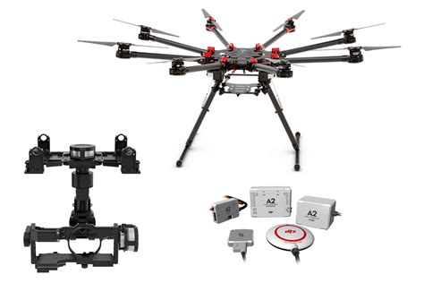 Dji S1000 dji s1000 octocopter with spreading wings a2 z15 gh4 hd