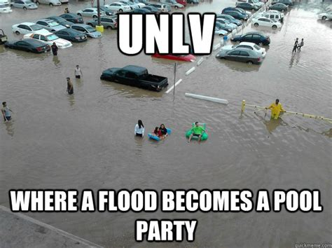 Flood Meme - send in the ark there s a flood las vegas more