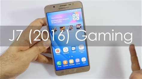 Samsung J7 Review Samsung Galaxy J7 2016 Gaming Review