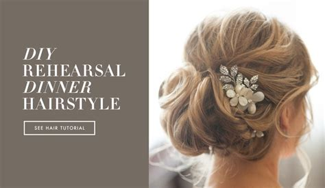 Easy Diy Wedding Hairstyles Hair by Diy Wedding Day Hairstyles Rehearsal Dinner Knotted Updo