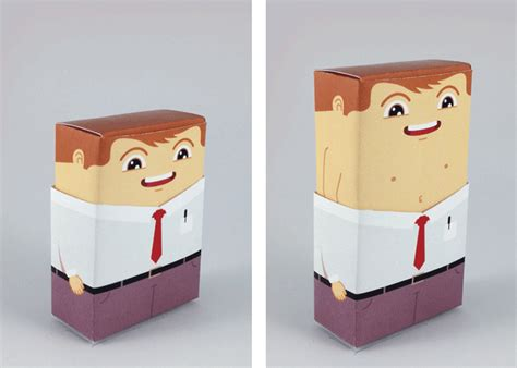 Human Papercraft - human anatomy papercraft inside peaceful beast