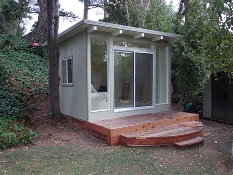 backyard studio plans 9 sources for midcentury modern sheds prefab diy kits and