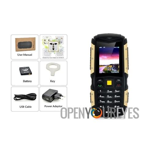 Mann Zug S Ip67 mann zug s rugged 2 inch display phone ip67 waterproof