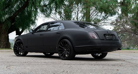 bentley mulsanne matte black murdered out bentley mulsanne is it sick or does it