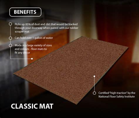 Mat Benefits by Industrial Classic Floor Mats Canada Canadian Linen