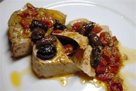 cucinare tranci di tonno fresco tranci di tonno alla mediterranea fidelity cucina