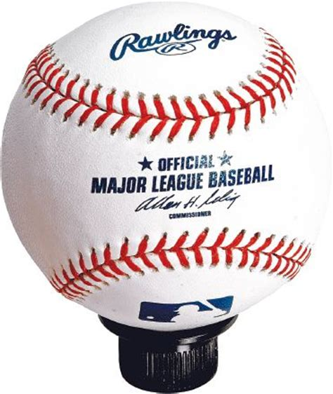 Baseball Shift Knob by All Things Jeep Bambino Official Mlb Rawlings Baseball