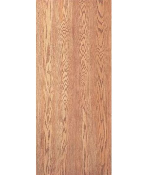 jeld wen woodgrain flush unfinished red oak single prehung description