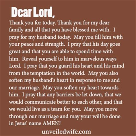 thank you letter to my husband on s day prayer of the day soften my husband s