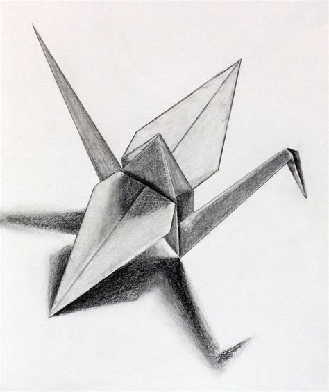 Drawing Origami - 52 best images about drawings of paper on