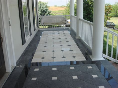 House Porch Ky Tile Amp Stone
